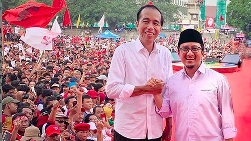 Dukung Jokowi, Yusuf Mansur Serukan Ujaran Kedamaian