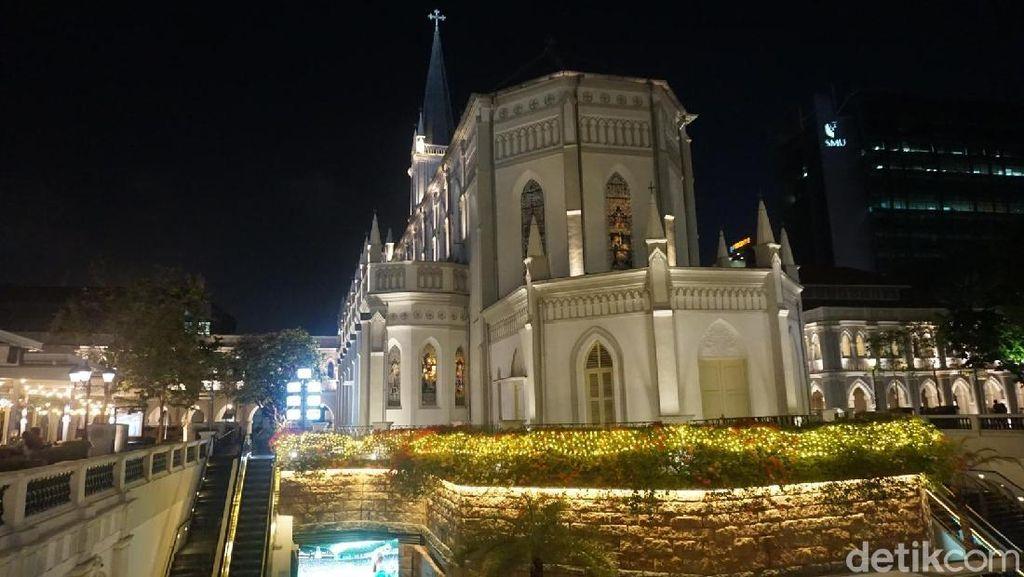 Foto: Gereja Jadi Tempat Nongkrong, Singapura Punya