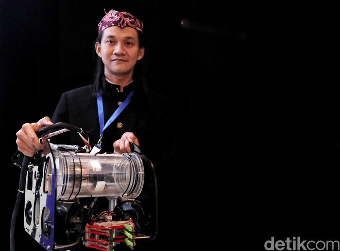 Pameran Indonesia Startup Summit (ISS) 2019 di JI Expo, Kemayoran, Jakarta, Rabu (10/4).