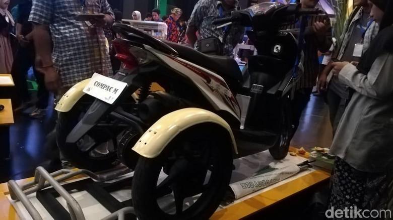 Motor roda 3 untuk penyandang disabilitas Foto: Rizki Pratama