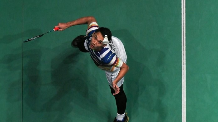 Badminton salah satu permainan olahraga yang disenangi di Indonesia, loh. Foto: Mohd Rasfan/AFP