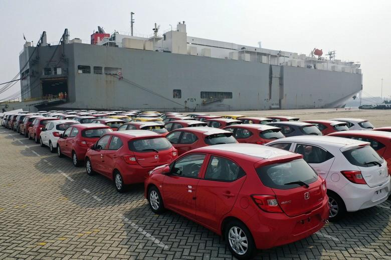 Honda Brio made in Indonesia diekspor. Foto: Honda