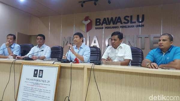 BPN Prabowo Datangi Bawaslu, Minta Kasus Bowo Sidik Ditindaklanjuti