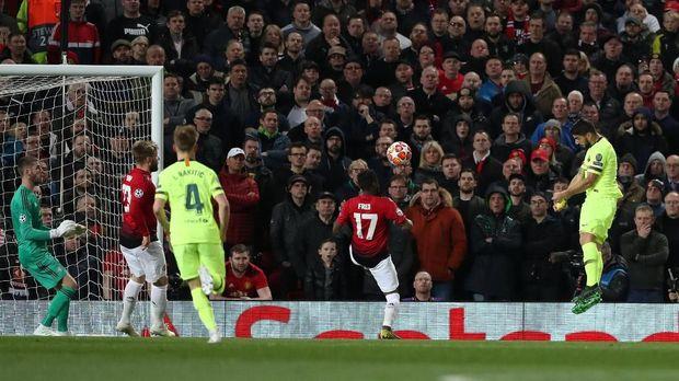 Barcelona menang 1-0 atas Man United di Old Trafford.
