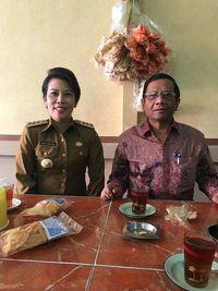 Momen Mahfud MD Sarapan di Singkawang hingga Makanan Favoritnya di Padang