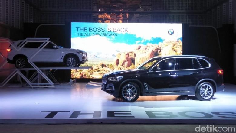 BMW X5 xDrive40i xLine  Foto: Ruly Kurniawan/detikOto