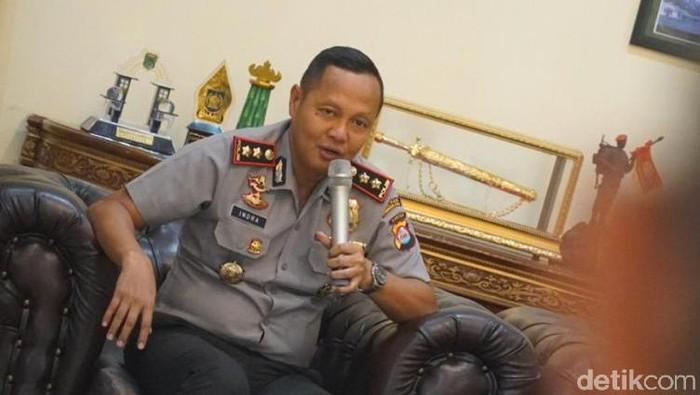 Kapolres Pandeglang AKBP Indra Lutrianto Amstono (Bahtiar Rifai/detikcom)
