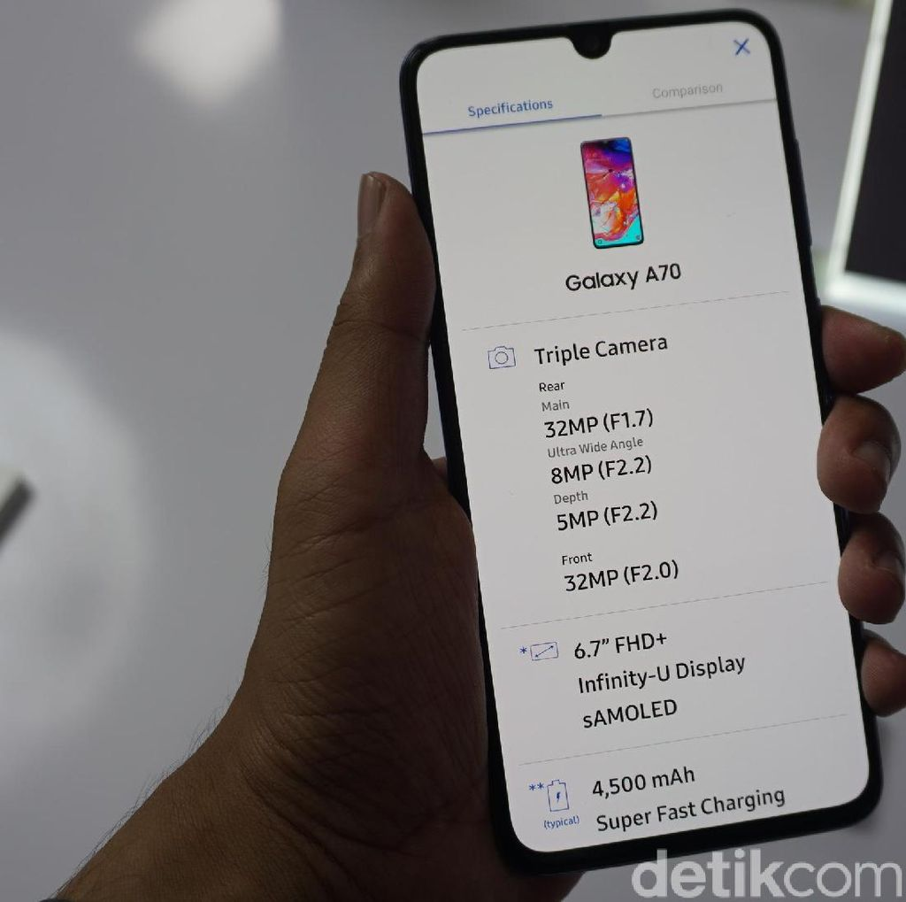 Ada Rumor Samsung Mulai Garap Galaxy A70S, Kameranya 64 MP