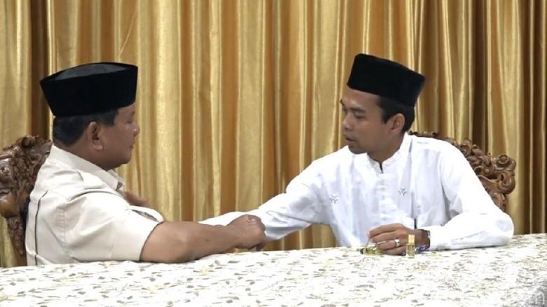 Bertemu Prabowo, Ustaz Somad Lega Ungkap Bisikan Hasil 5 Kali Mimpi Ulama