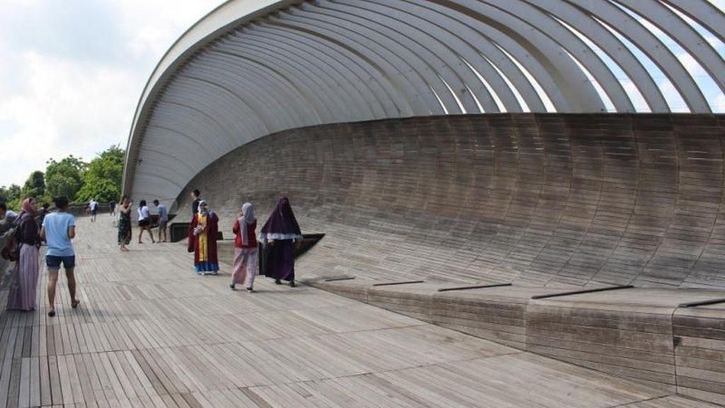 Jembatan Cantik di Pesona Negara Urban Singapura, Sudah Tahu?