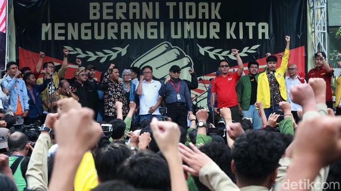 Wadah Pegawai KPK (WP KPK) mendeklarasikan 11 April sebagai Hari Teror Terhadap Pemberantasan Korupsi dan Pembela HAM di Indonesia. Novel Baswedan turut hadir.