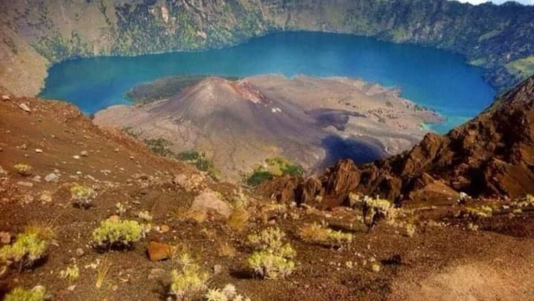 Foto: Gunung Rinjani (dok. BTNGR)