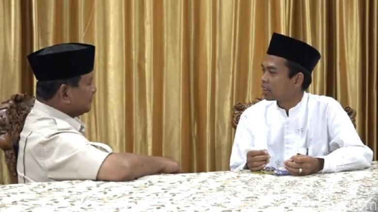 KASN Minta UIN Riau Klarifikasi Ustaz Somad karena Diduga Dukung Prabowo