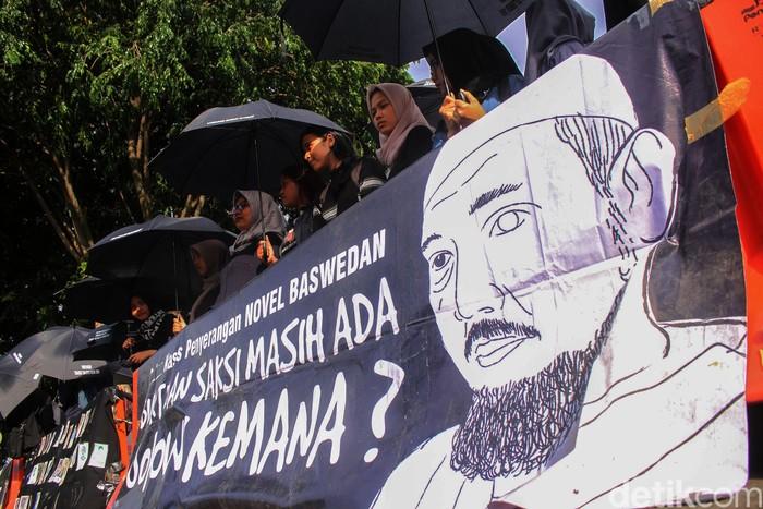 Potret aksi dukungan terhadap Novel Baswedan sebagai ilustrasi (Foto: Rifkianto Nugroho/detikcom)