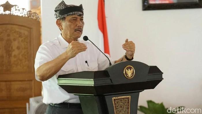 Luhut Minta Bupati Hingga TNI Sukseskan Pemilu