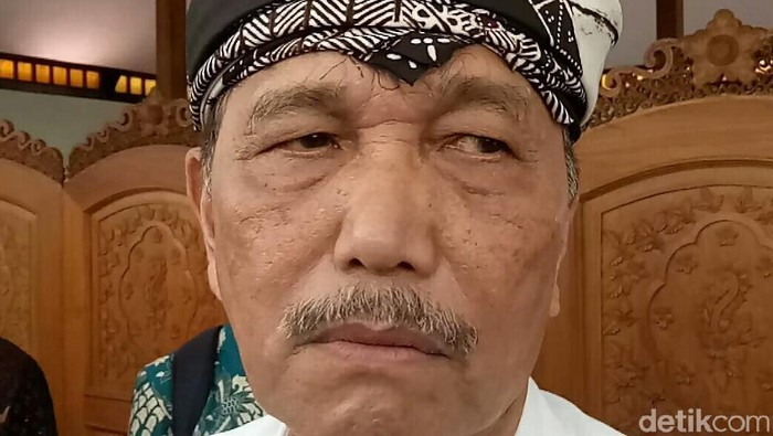 Menteri Koordinator Bidang Kemaritiman Luhut Binsar Panjaita
