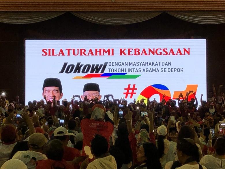 Jokowi Targetkan Raih 55% Suara Pilpres 2019 di Depok
