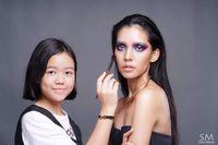 Natthanan, makeup artist berusia 12 tahun dari Thailand
