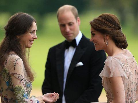 Rose Hanbury, Pangeran William, Kate Middleton