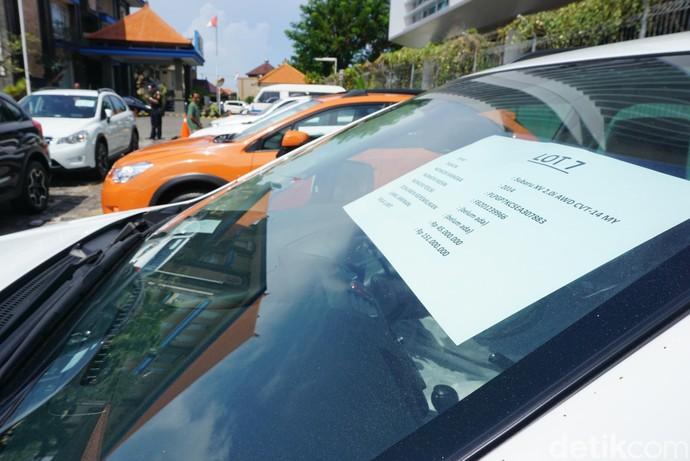 Berburu Mobil Lelang Subaru di Kantor Bea Cukai