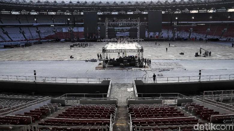 Begini Persiapan Konser Putih Bersatu di GBK