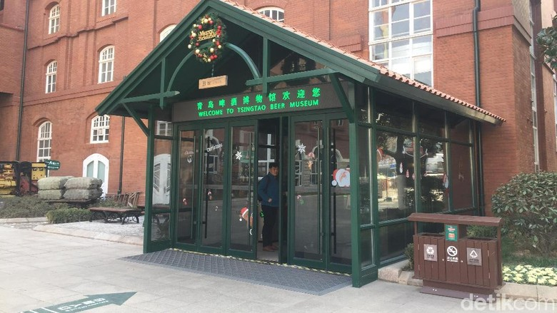 Foto: Tsingtao Beer Museum (Bonauli/detikcom)