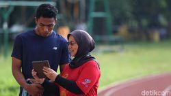Tangis Bahagia Zohri dan Pelatih Usai Genggam Tiket Olimpiade 2020 Tokyo