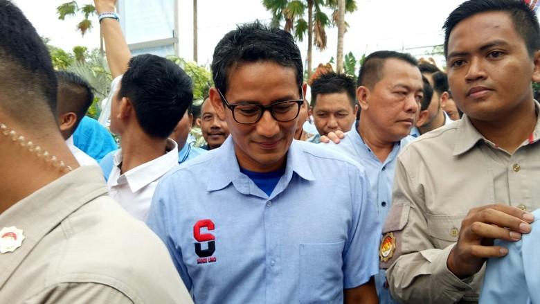 Ironi Sandiaga: Kampanye di 1.550 Titik, Kalah di TPS Sendiri