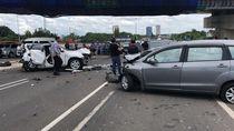 Kecelakaan Beruntun di Tol JORR: 1 Orang Tewas, 3 Terluka