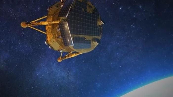 Israel siapkan penerus Beresheet, wahana antariksa yang gagal mendarat di Bulan. Foto: Reuters