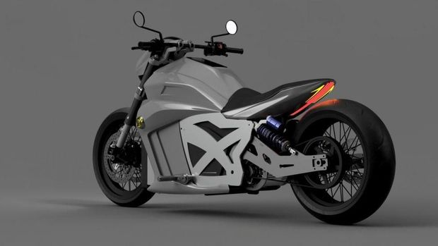 motor listrik Evoke Motorcycles