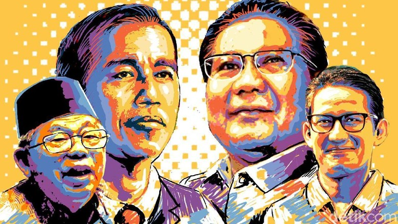 Survei Alvara: Elektabilitas Jokowi 52,2% Prabowo 38,8%