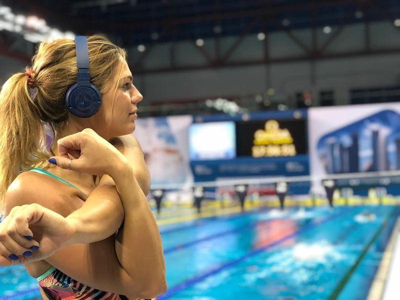 Yuliya Efimova merupakan salah satu atlet renang andalan Rusia. Dia menandai debutnya di Olimpiade 2008 di Beijing (Instagram/Yuliya Efimova)