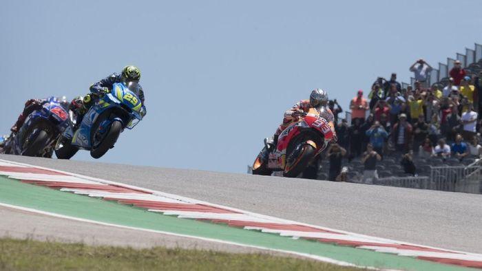 Marc Marquez menguasai COTA. Mungkinkah ada kejutan di MotoGP Amerika Serikat? (Foto: Getty Images)
