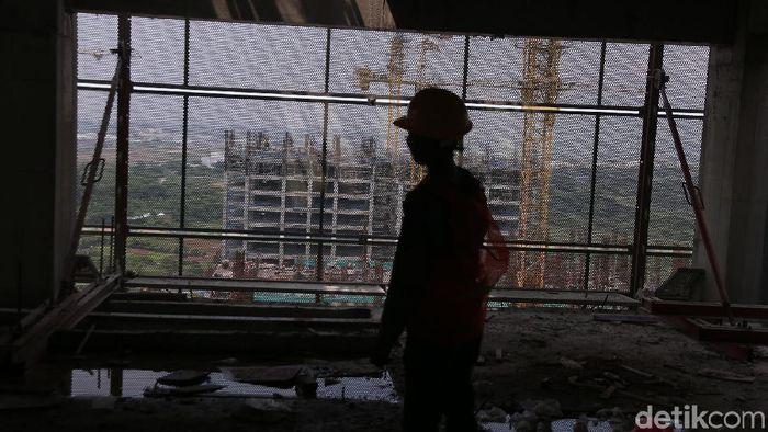 Meski tersangkut kasus suap, proyek pembangunan Meikarta terus berlanjut. Saat ini sudah ada 28 tower yang sudah dibangun.
