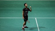 Anthony Singkirkan Chen Long, Maju ke Semifinal Singapura Terbuka