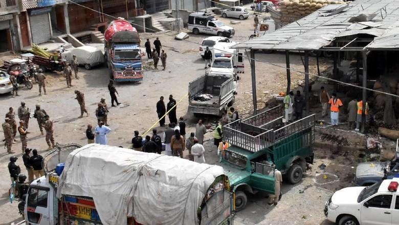 Bom Meledak di Pakistan, 4 Tentara Tewas