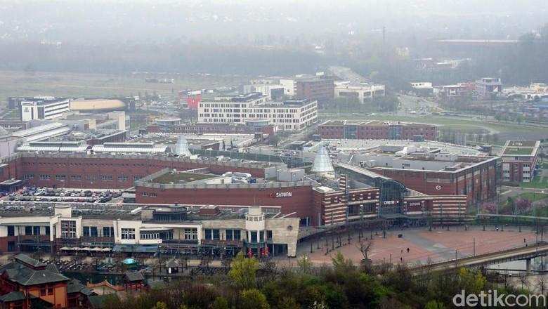 Centro Oberhausen, salah satu mal terbesar di Eropa (Wahyu Setyo/detikcom)