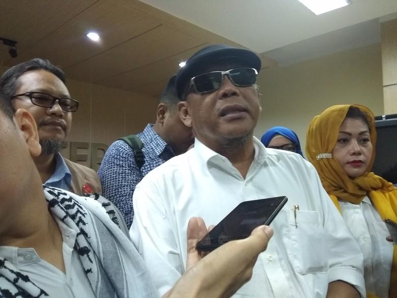 Laporkan Surat Suara Tercoblos, Eggi Sudjana Minta Jokowi Didiskualifikasi