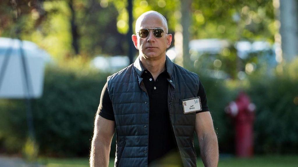 Putra Mahkota Arab Saudi Dilaporkan Retas HP Jeff Bezos Pakai WhatsApp