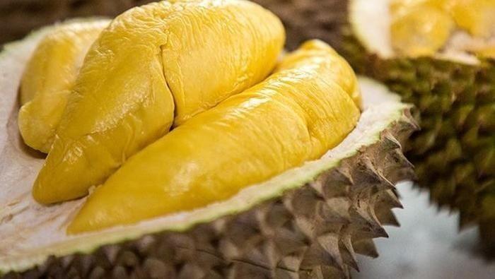 Ekstrak kulit durian bisa cegah bau mulut. Foto: Getty Images