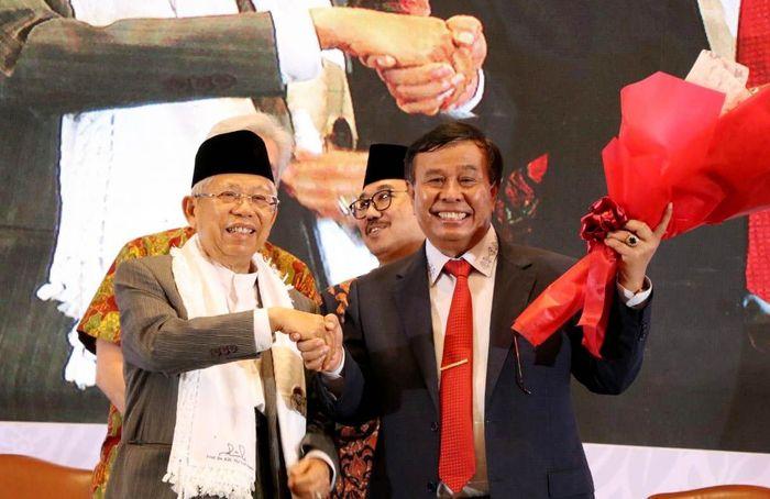 Lewat Ekonomi Baru Indonesia, buku ini mengupas dengan gamblang bagaimana arah dan tujuan Ekonomi Indonesia ke depan bila nanti Maruf terpilih sebagai Cawapres 2019-2024. Foto: dok. Marufnomics