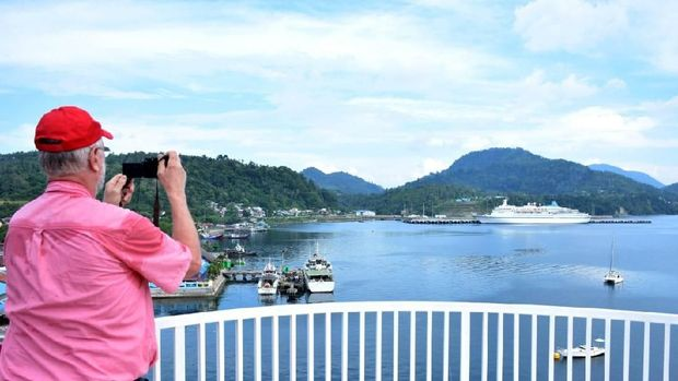 Kapal Pesiar Keempat Singgah di Sabang, Bawa 900 Turis