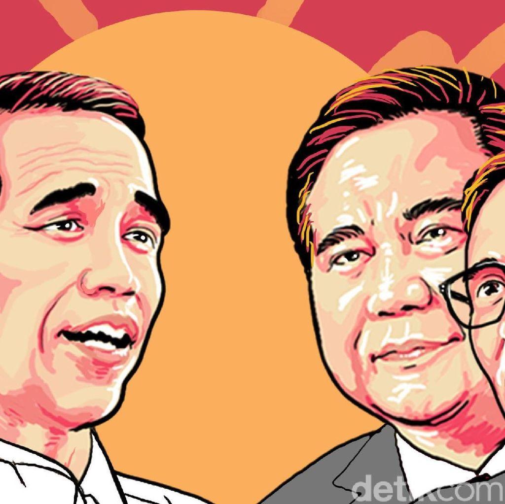 Data KawalPemilu 17%: Jokowi Unggul 1,6 Juta Suara dari Prabowo