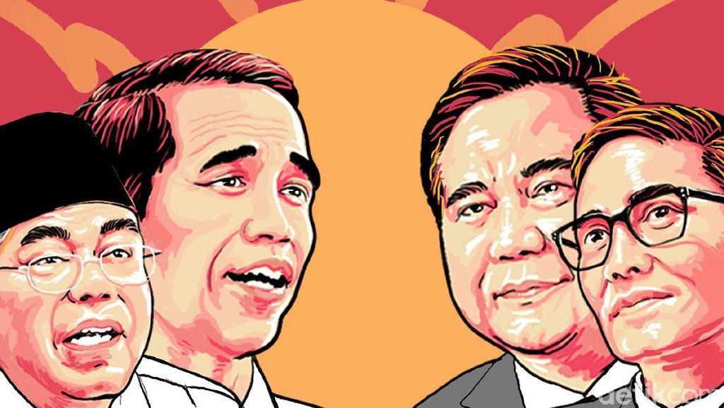 Menyimak Lagi Amunisi Jokowi dan Prabowo di Debat Terakhir