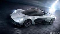 Tok! Mobil Super Aston Martin Resmi Gunakan Mesin Mercy