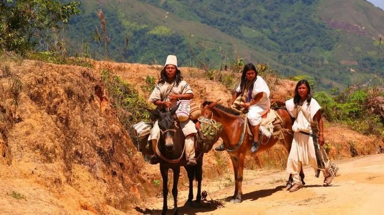 Suku Arhuaco di Pegunungan Sierra Nevada de Santa Marta, Kolombia (Christopher P Baker/BBC Travel)