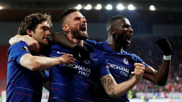 Jelang Final Liga Europa, Chelsea Berpeluang Samai Rekor MU