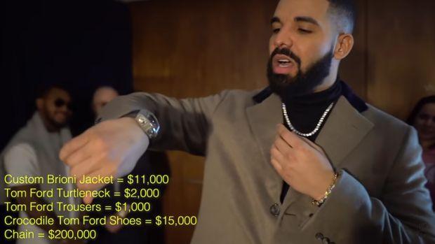 Gaya Drake ini totalnya mencapai hampir Rp 14 miliar.