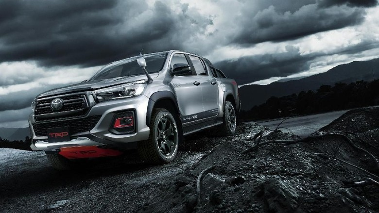 Hilux Black Rally Edition Foto: Toyota